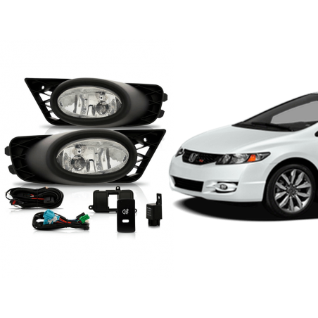 Kit Farol Milha New Civic...